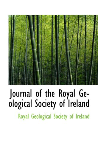 9780559020810: Journal of the Royal Geological Society of Ireland