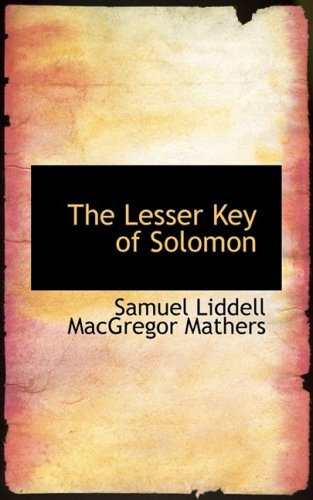 9780559052989: The Lesser Key of Solomon