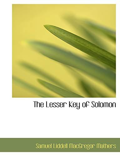 9780559053023: The Lesser Key of Solomon