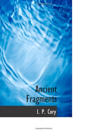 9780559054495: Ancient Fragments