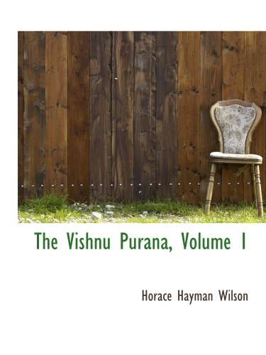 9780559059995: The Vishnu Purana, Volume 1