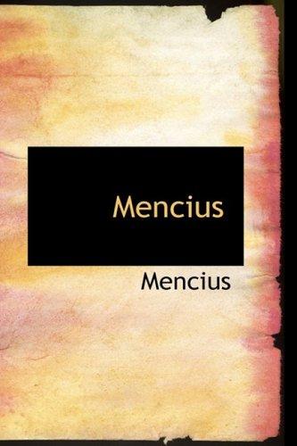 9780559060359: Mencius