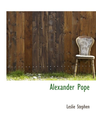 9780559061097: Alexander Pope