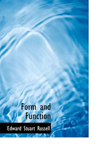 9780559106095: Form and Function