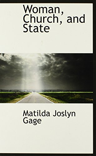 9780559112836: Woman, Church, and State