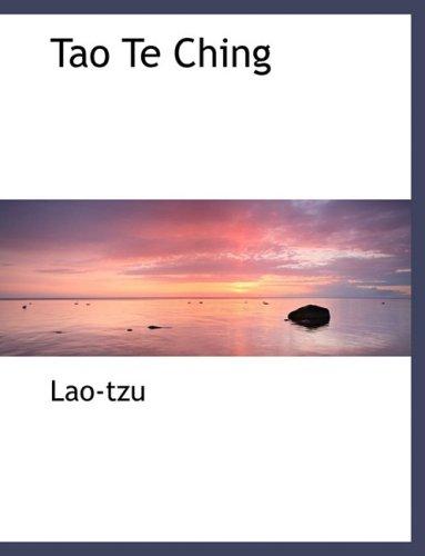 9780559118937: Tao Te Ching