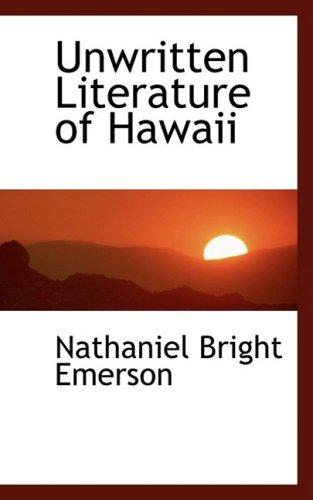 9780559128431: Unwritten Literature of Hawaii