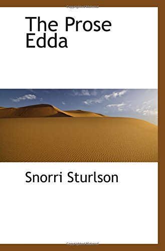 9780559131028: The Prose Edda