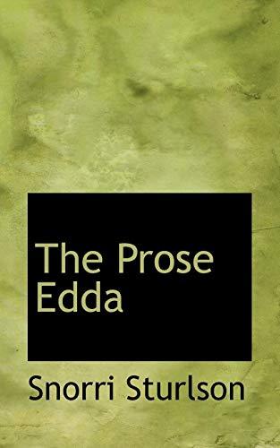 9780559131042: The Prose Edda