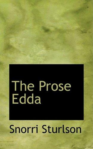9780559131080: The Prose Edda