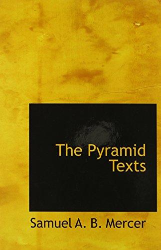 9780559134623: The Pyramid Texts