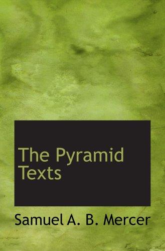 9780559134661: The Pyramid Texts