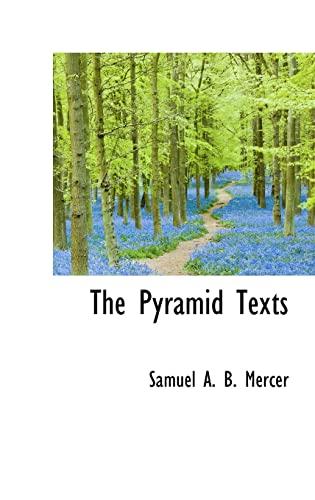 9780559134692: The Pyramid Texts