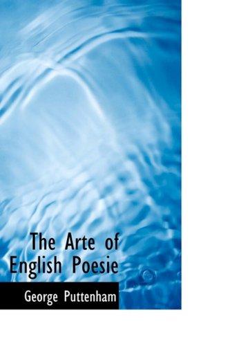 9780559135002: The Arte of English Poesie