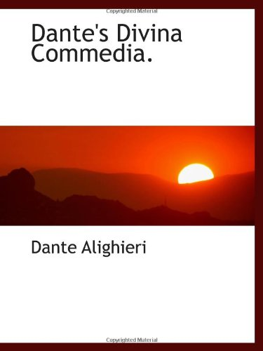 9780559146008: Dante's Divina Commedia.