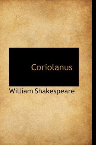 9780559152153: Coriolanus