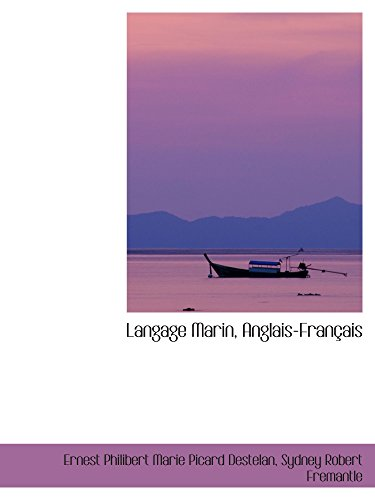 9780559152894: Langage Marin, Anglais-Français