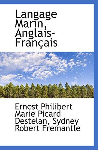9780559152924: Langage Marin, Anglais-Français