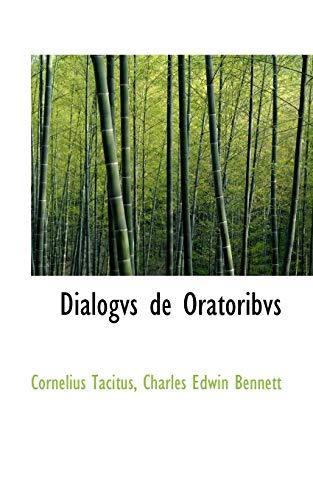 9780559174872: Dialogvs De Oratoribvs
