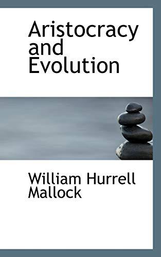 9780559179044: Aristocracy and Evolution