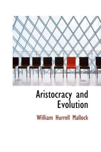 9780559179068: Aristocracy and Evolution