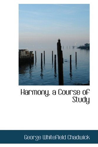 9780559220289: Harmony, a Course of Study