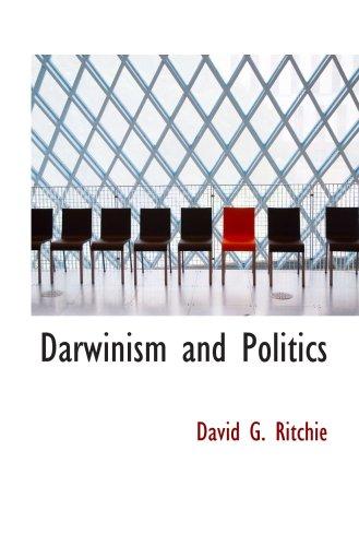 9780559222917: Darwinism and Politics