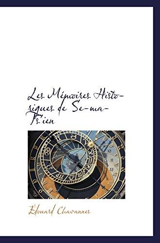 9780559224690: Les Mémoires Historiques de Se-ma-Ts'ien