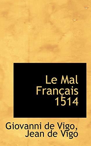 9780559227196: Le Mal Francais 1514