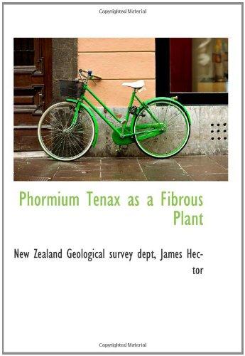 9780559234958: Phormium Tenax as a Fibrous Plant