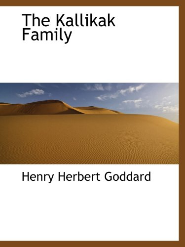 9780559245343: The Kallikak Family