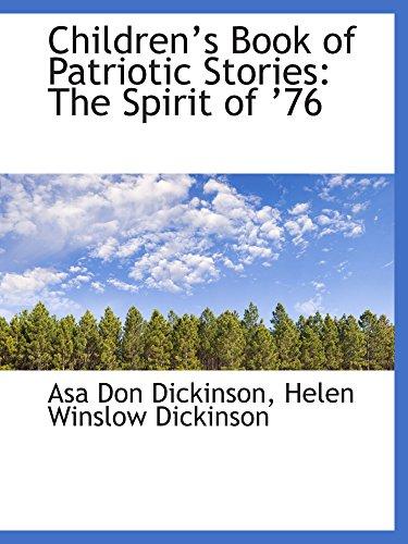 9780559248535: Childrens Book of Patriotic Stories: The Spirit of 76