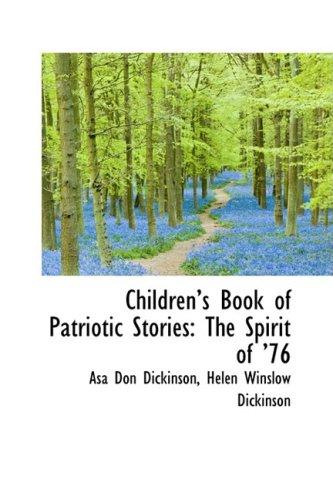 9780559248603: Children's Book of Patriotic Stories: The Spirit of '76