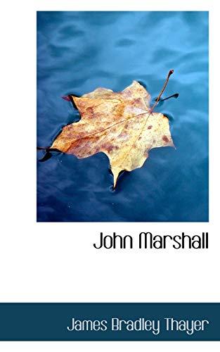 9780559270109: John Marshall