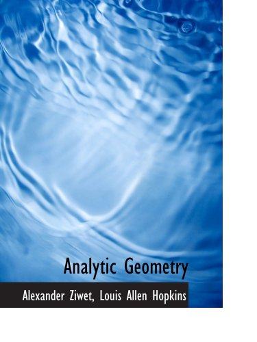 9780559311734: Analytic Geometry