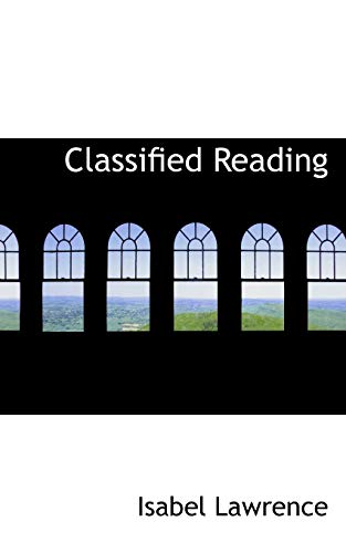 9780559312151: Classified Reading