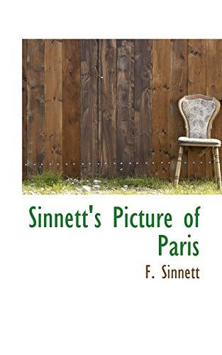 9780559315732: Sinnett's Picture of Paris