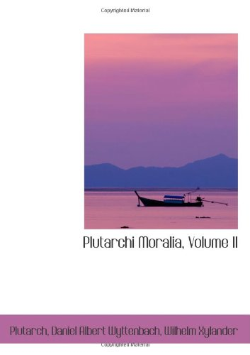 9780559330582: Plutarchi Moralia, Volume II