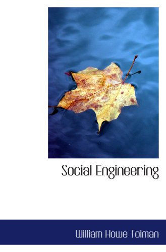 9780559330636: Social Engineering