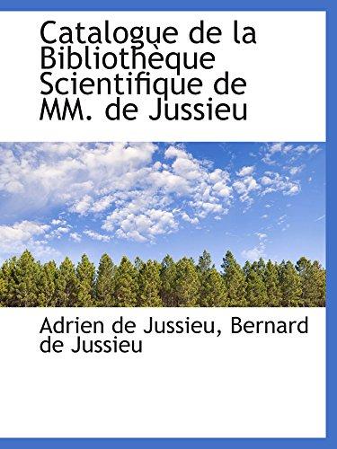 9780559345807: Catalogue de la Bibliothèque Scientifique de MM. de Jussieu