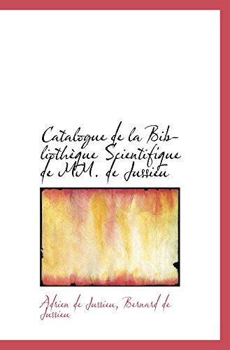 9780559345814: Catalogue de la Bibliothèque Scientifique de MM. de Jussieu