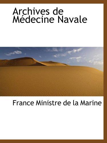 9780559352171: Archives de Médecine Navale
