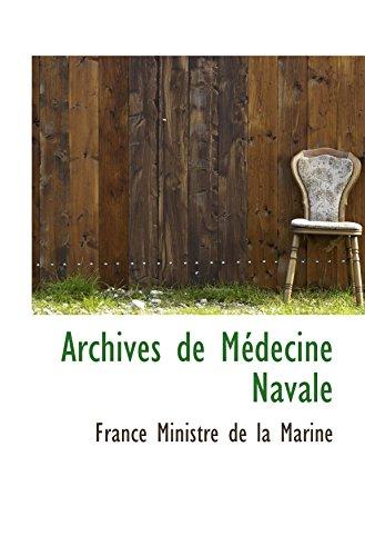 9780559352188: Archives de Médecine Navale
