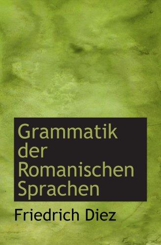 9780559356032: Grammatik der Romanischen Sprachen