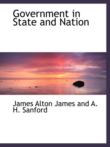 9780559374845: Government in State and Nation