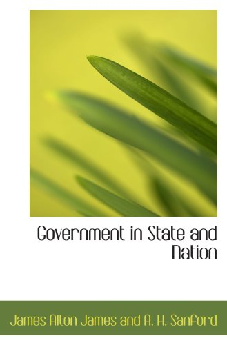 9780559374852: Government in State and Nation