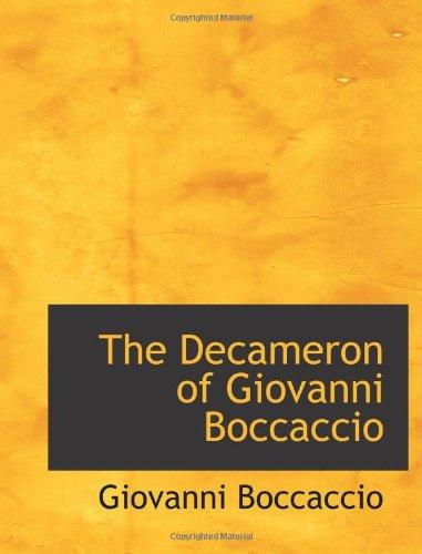 9780559389528: The Decameron of Giovanni Boccaccio