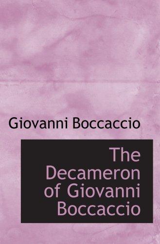 9780559389535: The Decameron of Giovanni Boccaccio