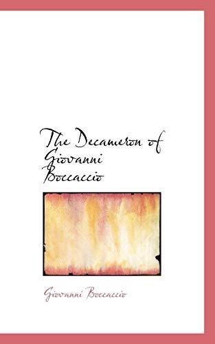 9780559389542: The Decameron of Giovanni Boccaccio (Bibliobazaar Reproduction)
