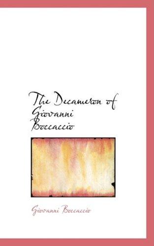 9780559389559: The Decameron of Giovanni Boccaccio (Bibliobazaar Reproduction)